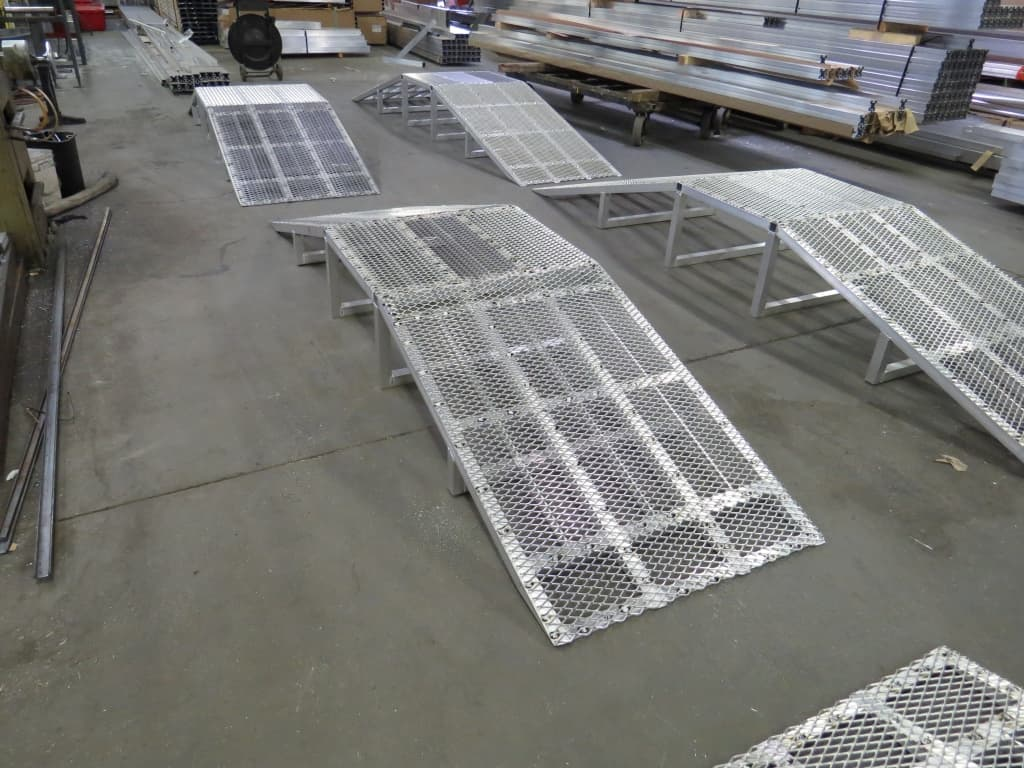 Crossovers For Rooftop Ramps For Carts W S Safety