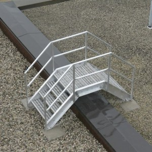 Rooftop Stairs/Crossovers
