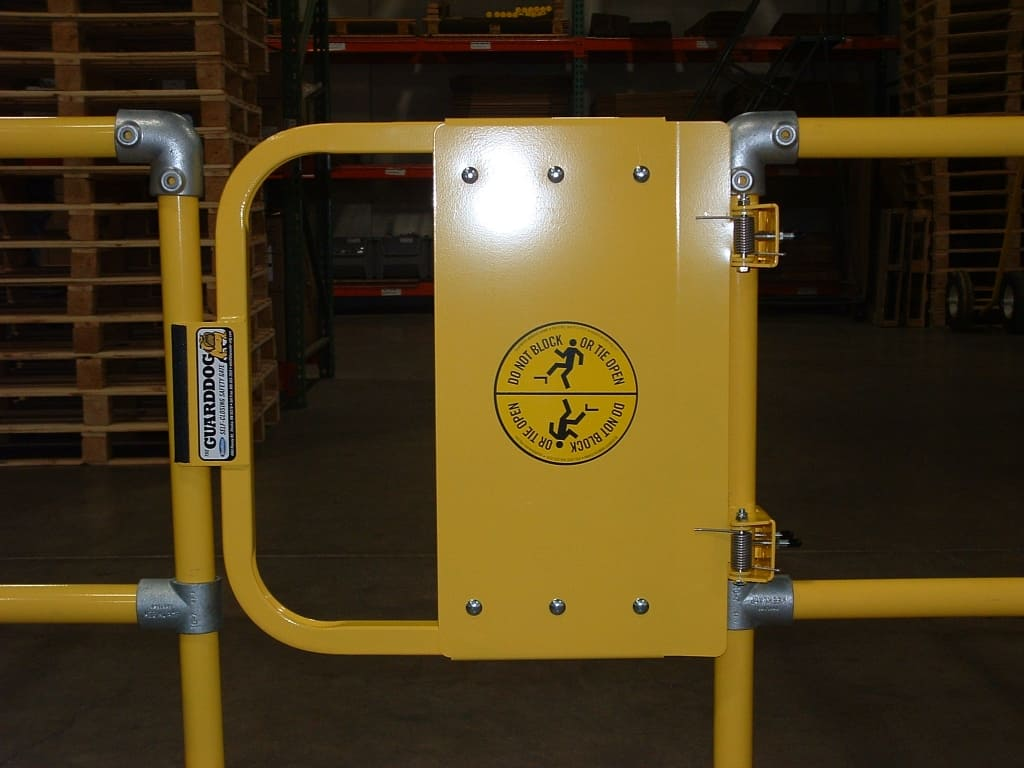 BlueWater Manufacturing Self-Closing Safety Gates | W.S ...