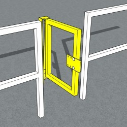 Gravity Swing Safety Gates - Self Closing Safety Gate