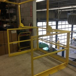 Mezzanine Safety Gate - Industrial Safety Gates