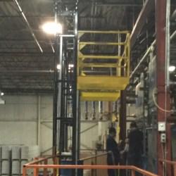 Mezzanine Safety Gate - Industrial Safety Gates