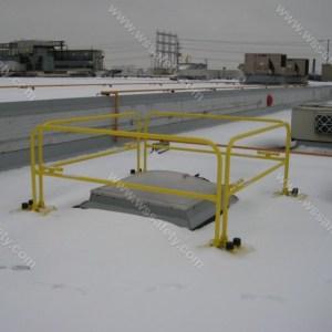 Non Penetrating Guardrails