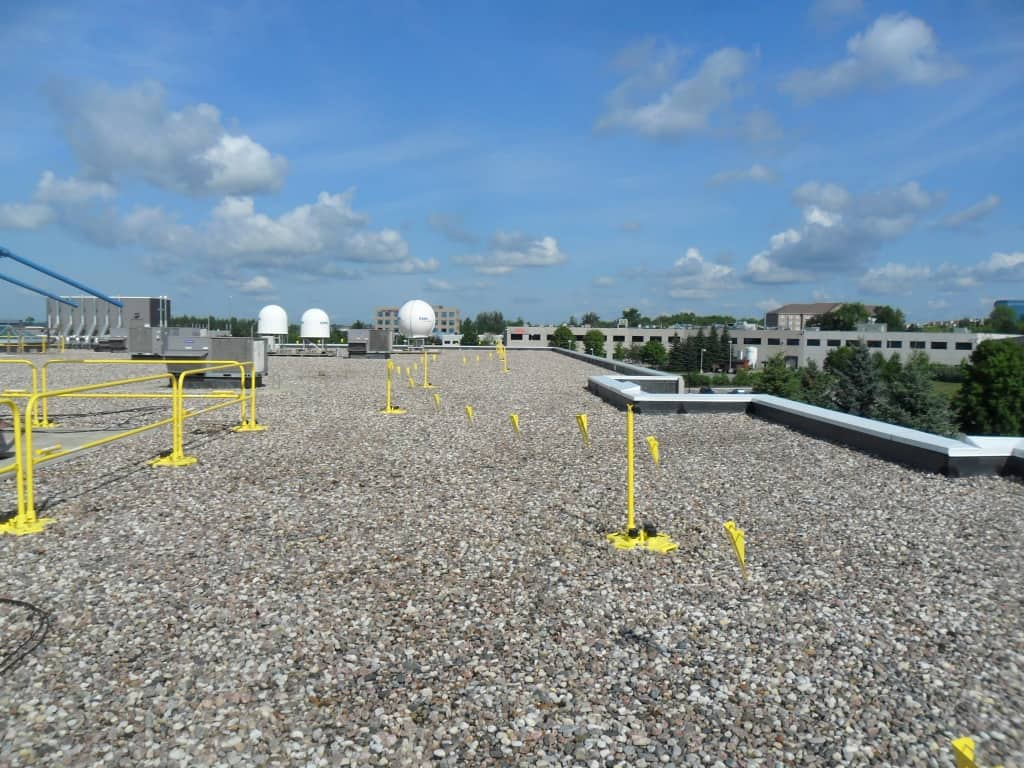 Permanent Amp Temporary Rooftop Warning Line Systems W S