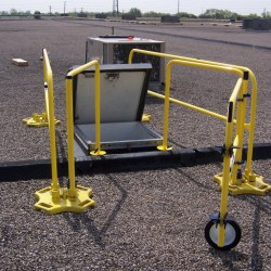 SafetyRail 2000 for Roof Hatch Guardrails