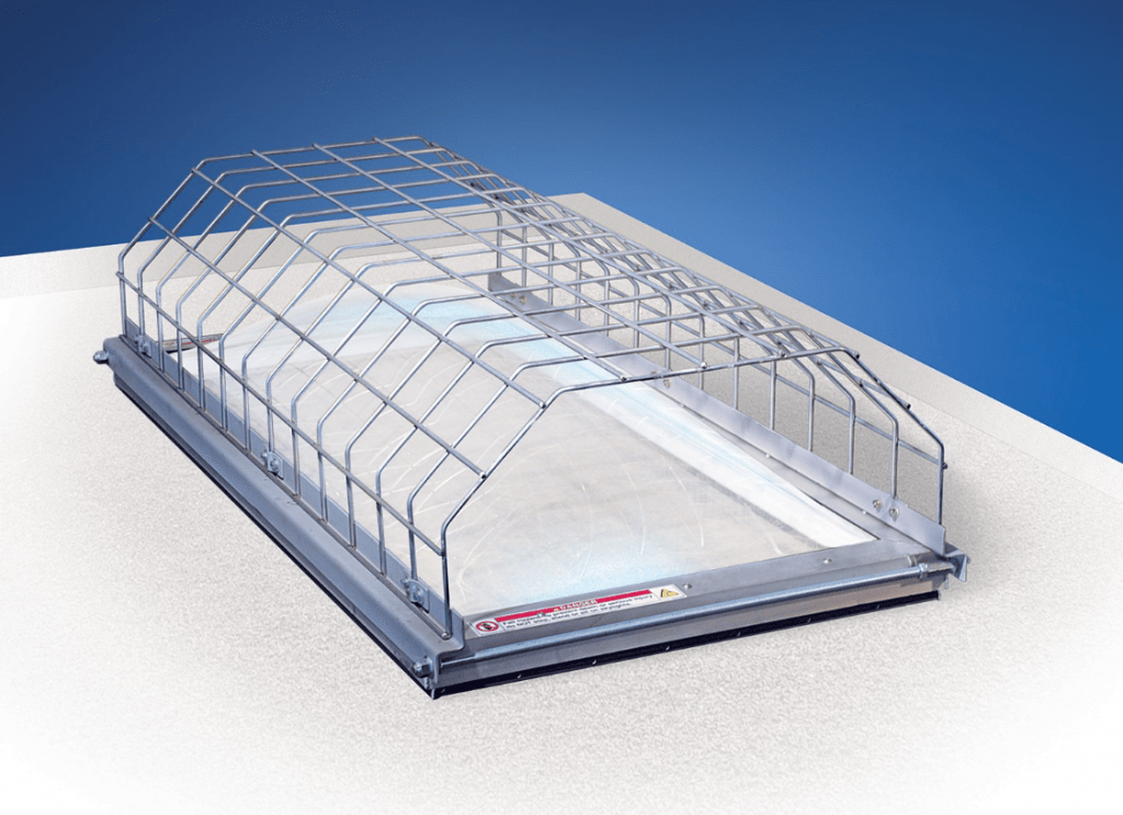 Skylight Defender Rooftop Screen Protection