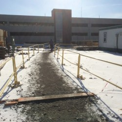 Temporary Rooftop Guardrails